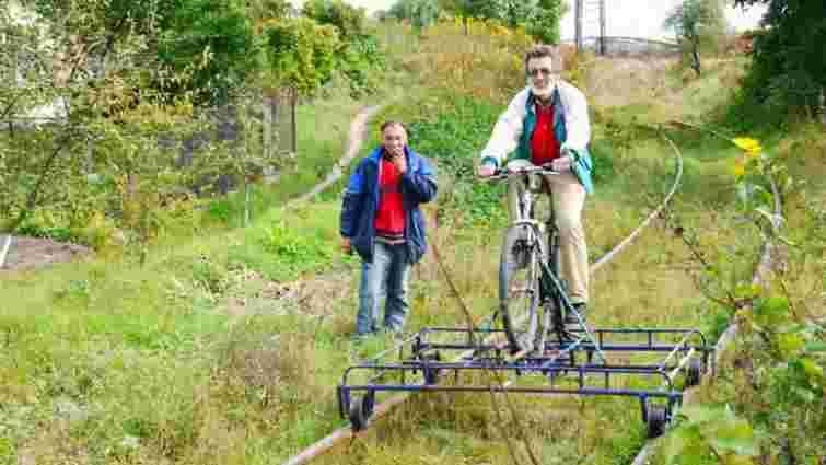 У парку «Знесіння» можна буде покататися на рейковому велосипеді