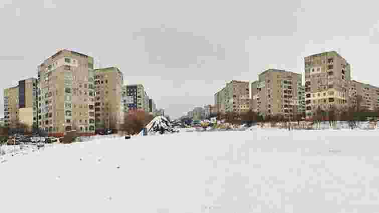 Львівський архітектор пропонує зробити сквер всередині трамвайного кільця на Сихові