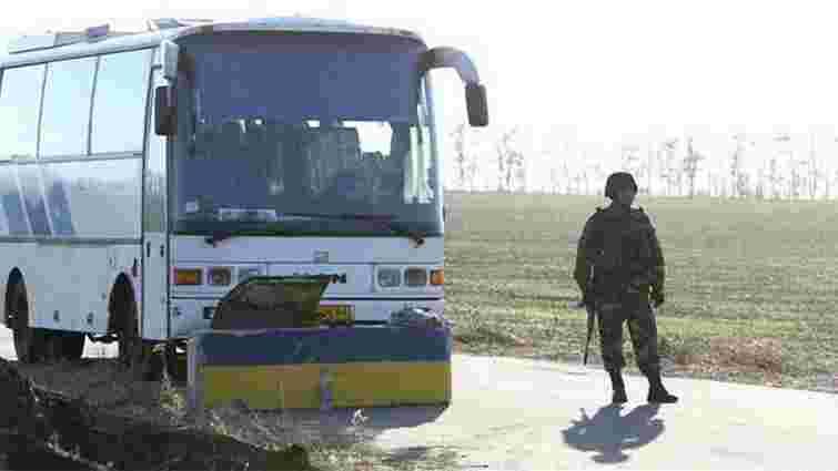 З 6 січня в зоні АТО заборонили пасажирські автобусні перевезення