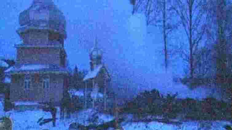 На Різдво у Львівській області згоріла церква