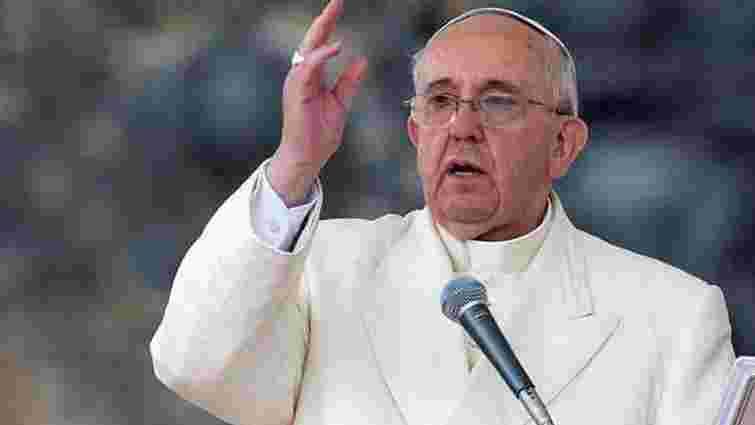 Папа Франциск закликав мусульман засудити теракти у Франції