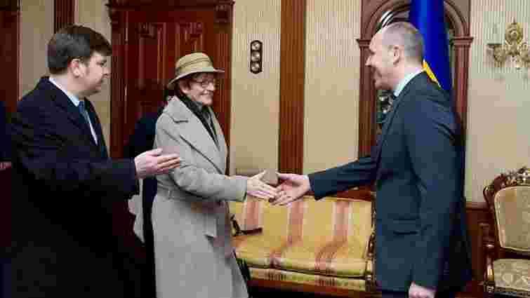 В Україну прибула президент ПАРЄ