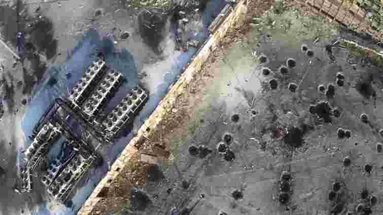 У мережі з'явилося відео донецького аеропорту із висоти пташиного польоту (відео)