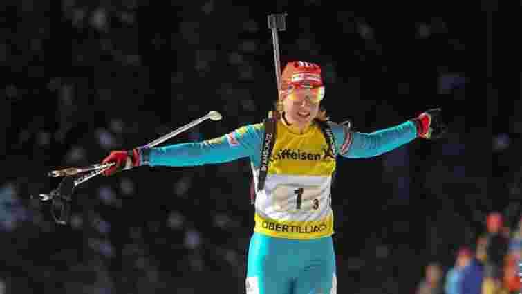 Українська біатлоністка здобула золото чемпіонату Європи