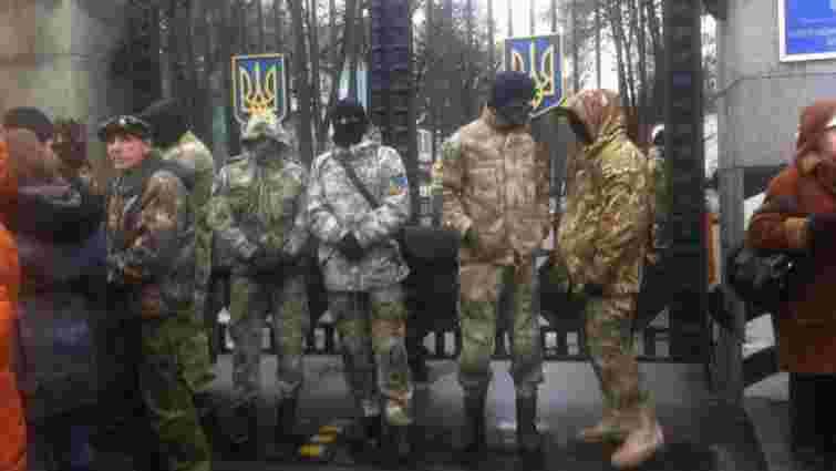 """Аваков: Акція протесту батальйону """"Айдар"""" під Міноборони, - це зрада"""