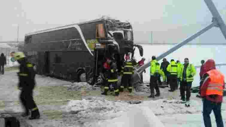 У ДТП в Словаччині загинула українка, ще 8 українських громадян поранені