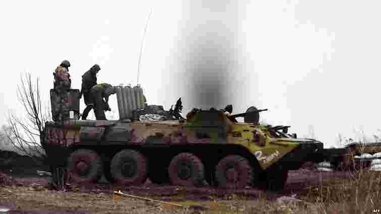 Спроби штурму Дебальцевого бойовиками не припинялися навіть уночі, - прес-центр АТО