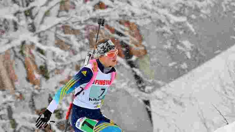 Молода українська біатлоністка продемонструвала кращий у кар'єрі результат