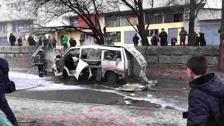 У Харкові вибухнув автомобіль комбата батальйону «Слобожанщина»