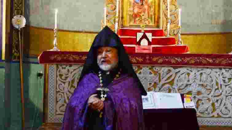 Помер глава Української єпархії Вірменської Апостольської Церкви