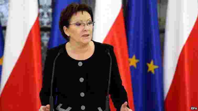 У конфлікті в Україні проливається кров за Євросоюз, – прем'єр Польщі
