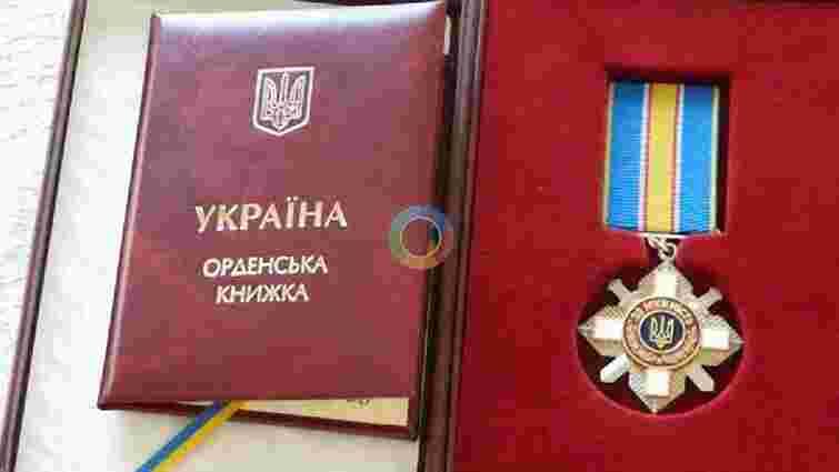 Порошенко відзначив чотирьох українських військових держнагородами