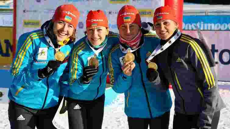 Біатлон: жіноча збірна України «золотим» складом вирушить на естафету чемпіонату світу