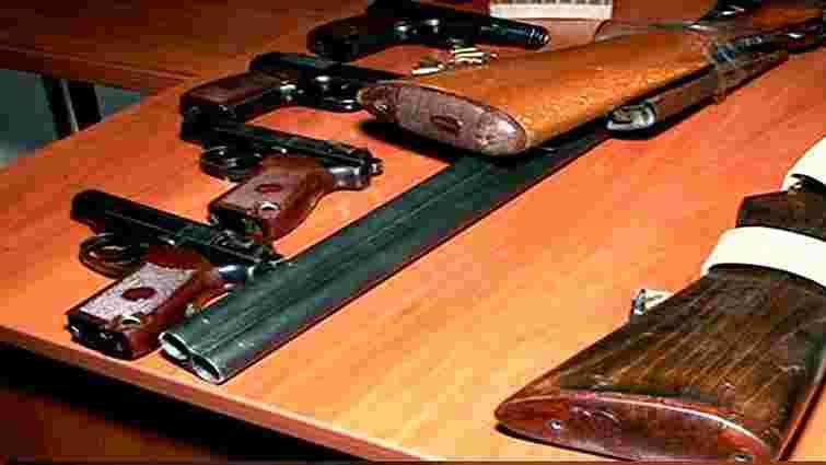 За два місяці на Львівщині виявили більше незаконної зброї, ніж за минулий рік