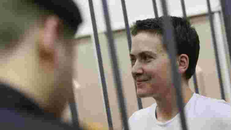 Українським лікарям сьогодні вдалося відвідати Надію Савченко