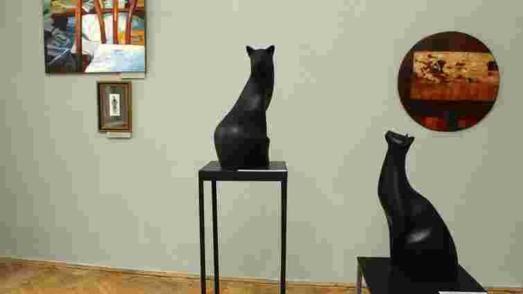 У Львівській галереї мистецтв відкрилась виставка «Світ кота»