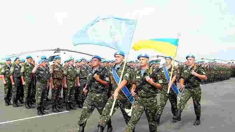 Президент вніс до Верховної Ради проект звернення до ООН та ЄС щодо миротворців