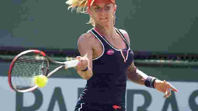 Теніс: українка Леся Цуренко вибила  чергового топ-гравця на турнірі в Індіан-Уеллс