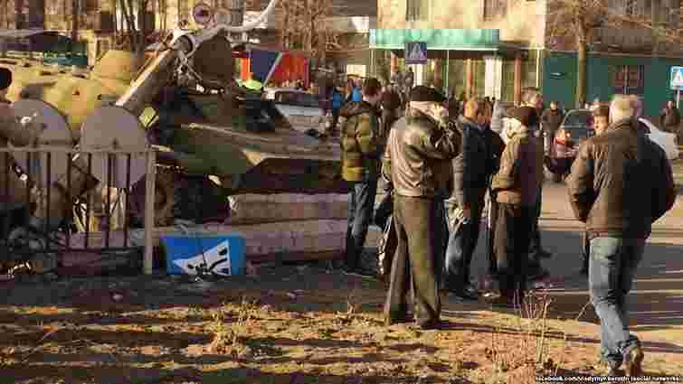 Військові, які скоїли смертельну ДТП у Костянтинівці, не мали дозволу керувати бронетехнікою