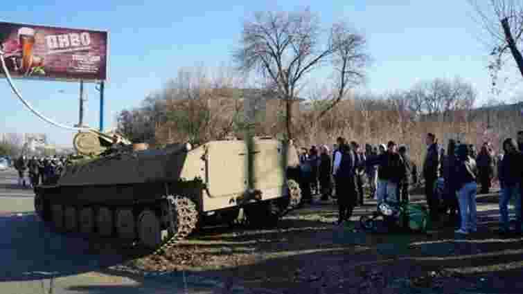 Військових, які скоїли ДТП в Костянтинівці, заарештували
