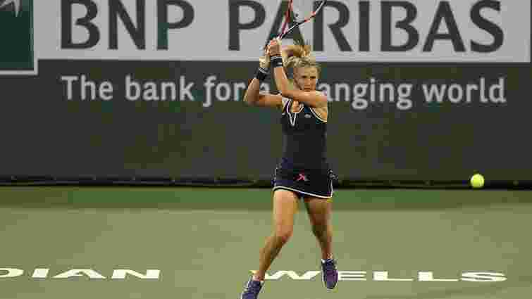 Теніс: українка Леся Цуренко вперше в кар'єрі вийшла до чвертьфіналу турніру WTA