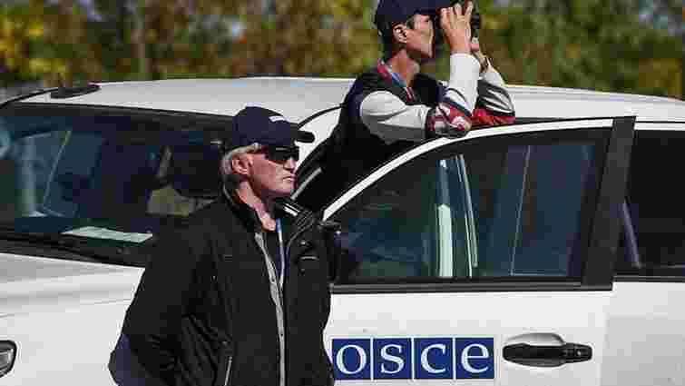 Бойовики погрожували зброєю спостерігачам ОБСЄ