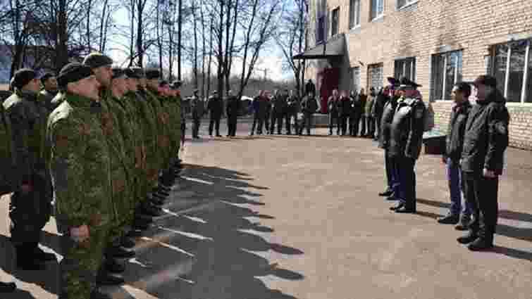 У зону бойових дій вирушили 40 бійців львівського батальйону