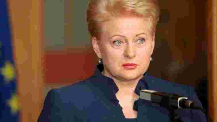 Президент Литви отримає в Києві нагороду «Людина року»