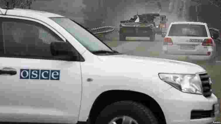 Спостерігачі ОБСЄ зафіксували важке озброєння на Донбасі