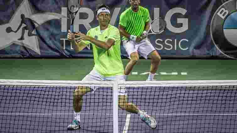Український тенісист Сергій Стаховський виграв парний титул у США