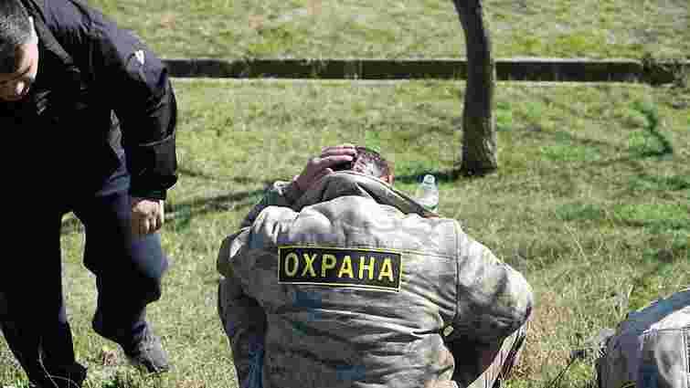 В Одесі між «Самообороною» і приватними охоронцями сталась запекла бійка (відео)