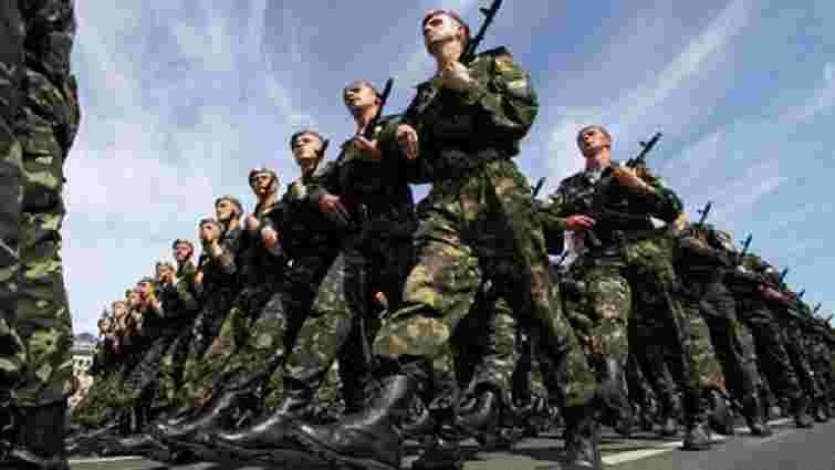 Президент збільшив чисельність Збройних сил України до 250 тисяч осіб