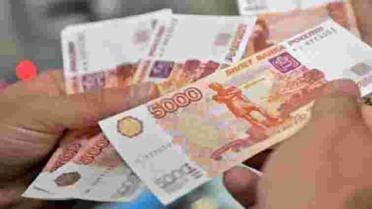 В донецьких магазинах з'явилися цінники в російських рублях
