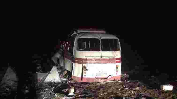Під Артемівськом на міні підірвався пасажирський автобус