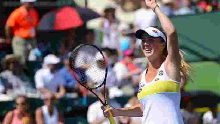 Тенісистка Еліна Світоліна стартувала з перемоги на турнірі у Майамі