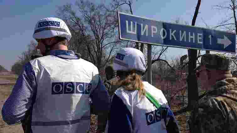Бойовики погрожували розстріляти спостерігачів ОБСЄ під Широкиним