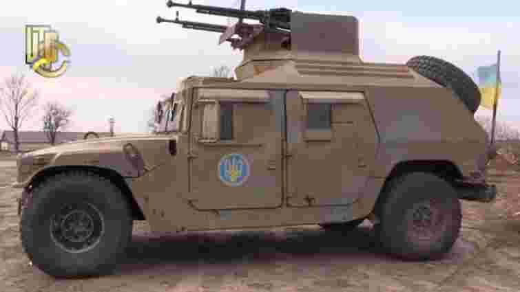 На американські броньовані машини встановлять високоточну українську зброю