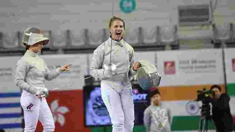 Шаблістка Ольга Харлан тріумфувала на етапі Гран-прі в Сеулі