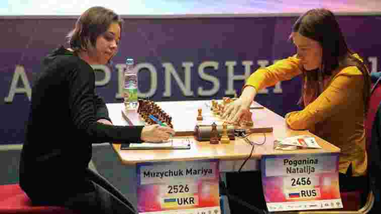 У третій партії фіналу чемпіонату світу з шахів українка розійшлася миром з росіянкою