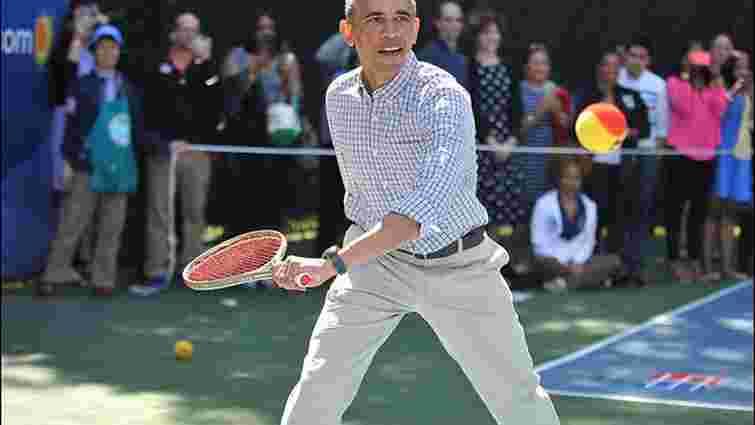 Барак Обама зіграв у теніс із п'ятою ракеткою світу