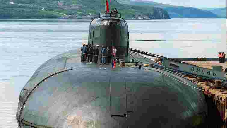 У Росії на атомному підводному човні сталася пожежа