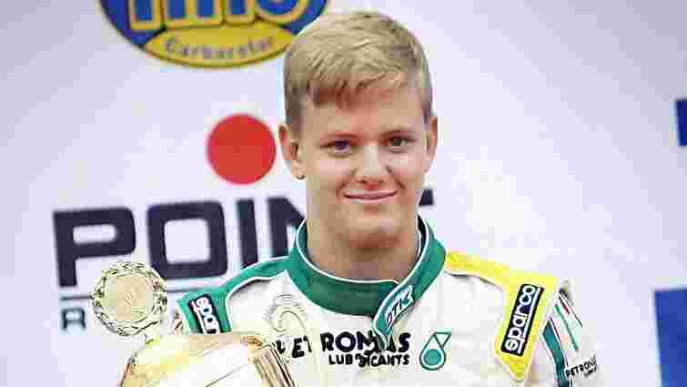 Син Міхаеля Шумахера дебютує у Формулі-4