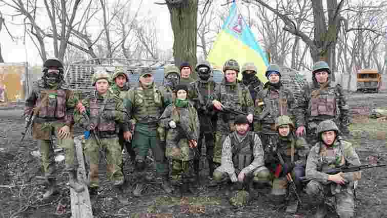 Міноборони: Батальйон «ОУН» організовано відводиться з Пісків