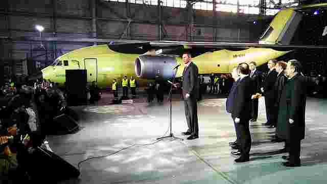 У Києві представили новий український літак АН-178