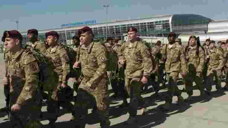 До Львова прилетіли десантники 173 бригади армії США