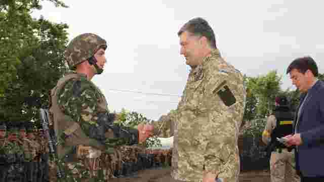 Порошенко 20 квітня відкриє міжнародні військові навчання на Яворівському полігоні