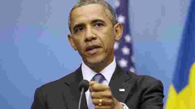 Обама закликав ЄС не припиняти санкцій проти Росії