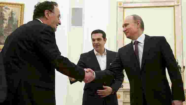 Росія виділить Греції €5 млрд, - Spiegel