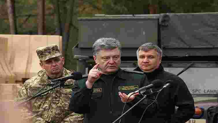Значна частина українських офіцерів була агентами ФСБ, – Порошенко