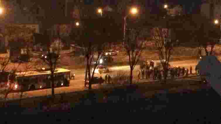 На Стрийській таксист збив львів'янина, який вибіг на дорогу перед «зеброю»